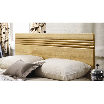 Flute Oak Headboard By Stuart Jones