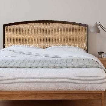 Cane Headboard Case Study V Leg Bed W Cane Headboard By Modernica Made In Usa Walnut U0026